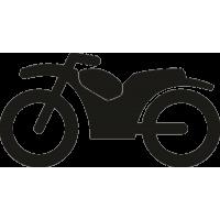 Спортивно-туристический мотоцикл