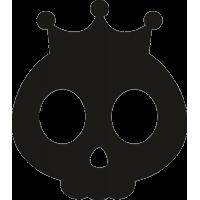 Маска Черепа с короной