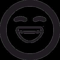 Смайлик Смех 2