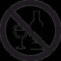 Знак Алкоголь Запрещен 2