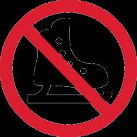 Знак Не Кататься на Коньках 1