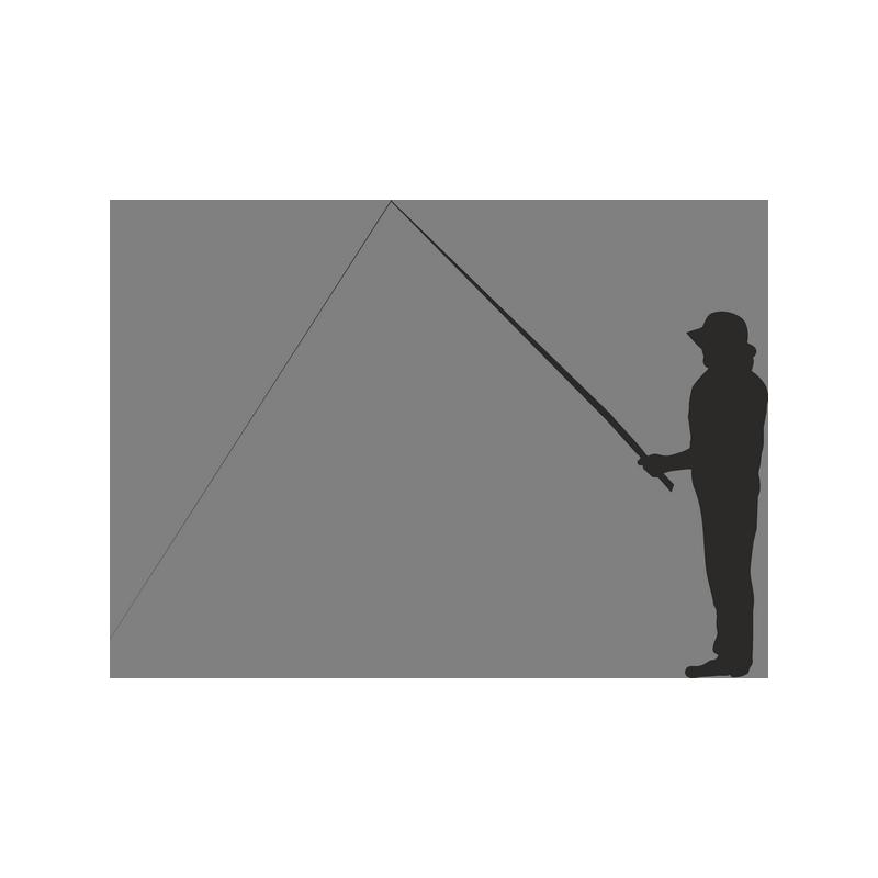 шаблоны рыбака с удочкой