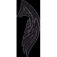 Татуировка Крылья 2