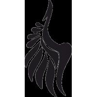 Татуировка Крылья 9
