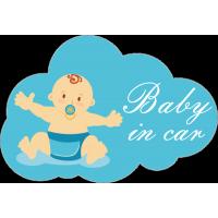 Baby in car - ребёнок в машине