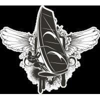 Виндсерфер с крыльями