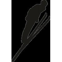 Лыжник прыгун с трамплина