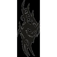 Татуировка Дьявол 1
