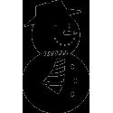 Моргающий снеговик