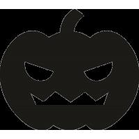 Злая тыква на Хэллоуин