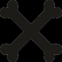 Кости в крест