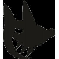Лиса с большими зубами