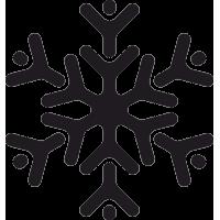Снежинка 16