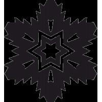 Снежинка 54