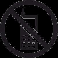 Знак Не Говорить по Телефону