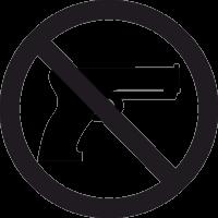Знак Ношение Оружия Запрещено 2