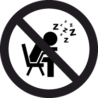 Знак Не спать 2
