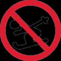 Кататься на Лыжах Запрещено 1