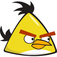 Желтая из Angry Birds