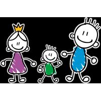 Семья - папа, мама, сын