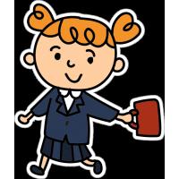 Ребенок, девочка школьница