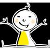 Человечек в желтой одежде