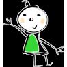Человечек в зелёной одежде