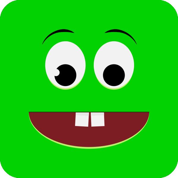 зеленый смайлик картинки