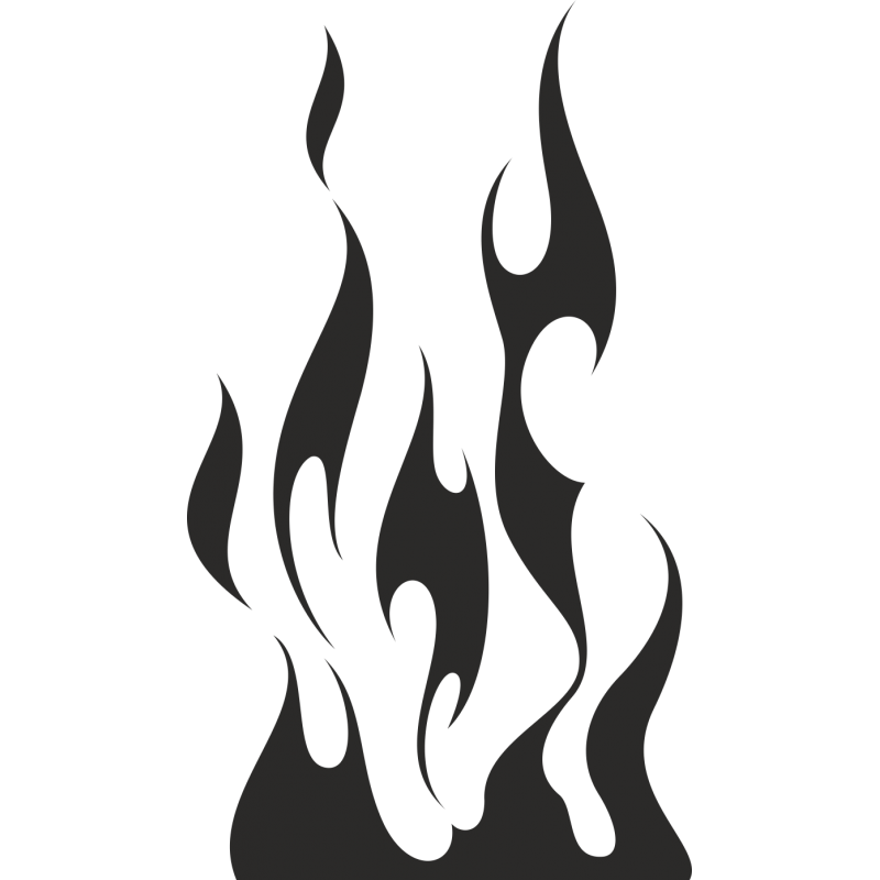 Картинки для трафарета распечатать огонь