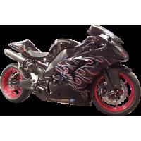 Спортивный мотоцикл Kawasaki