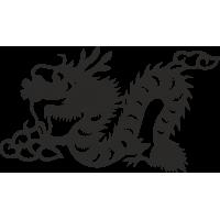 Знак китайского зодиака Дракон
