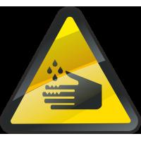 Опасность Едкой Жидкости