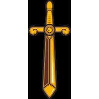 Золотистый меч