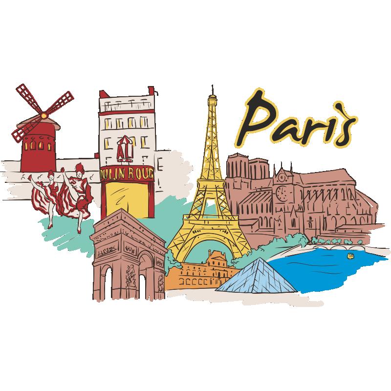 Картинки символы парижа