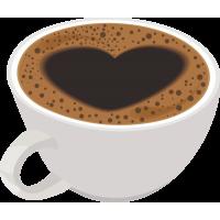 Кофе с сердцем
