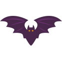 Фиолетовая летучая мышь