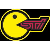 Смайл ест логотип Subaru STI
