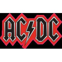 Логотип AC/DC - Эйси Диси