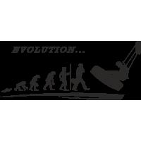 эволюция от черепахи до кайтсерфера