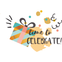Время отпраздновать - Time to celebrate!