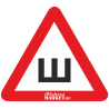 Знак Ш - Шипы с логотипом Stickers-Market.ru