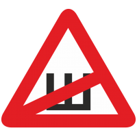 Знак Ш - Шипы перечеркнутый
