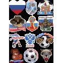 Набор к Чемпионату Мира По Футболу 2018 в России