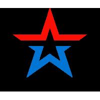 Звезда Армии России (Цветная, С Надписью)