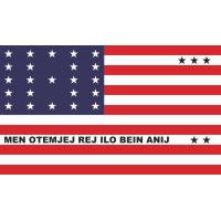 Флаг Атолл Бикини