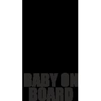 Baby on board - ребенок в машине - девочка