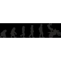 Эволюция от обезьяны до Байкера 2