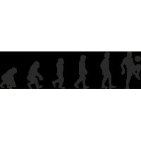 Эволюция от обезьяны до Футболиста 3