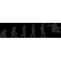Эволюция от обезьяны до Скейтбордиста 2