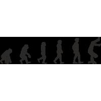 Эволюция от обезьяны до Скейтбордиста 4